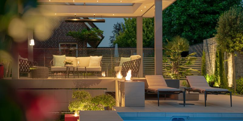 1.2 Wellness-Garten mit Florida Feeling in Rhede